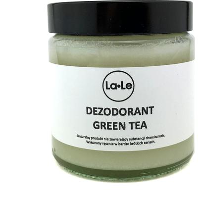 Dezodorant ekologiczny w kremie - Green Tea La-Le Kosmetyki