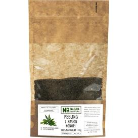 Natura Receptura Peeling z nasion konopii, 100 g