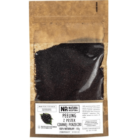 Natura Receptura Peeling z pestek czarnej porzeczki, 100 g