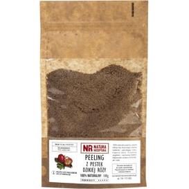 Natura Receptura Peeling z pestek dzikiej róży, 100 g