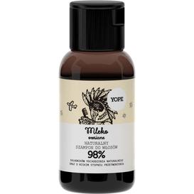 Yope Szampon do włosów normalnych - Mleko owsiane - travel size, 40 ml