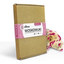 Beepack Woskowijki - pink pack