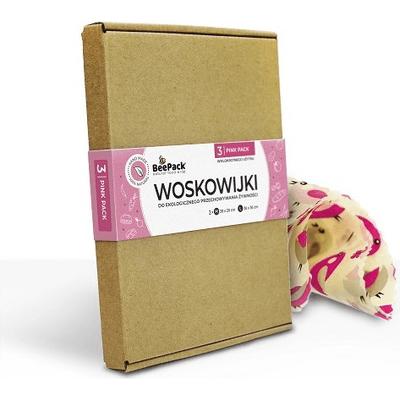 Woskowijki - pink pack Beepack