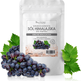 E-FIORE Sól himalajska - odprężające winogrona I cytrusy