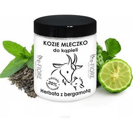E-FIORE Kozie mleko do kąpieli - Herbata z bergamotą, 400 g