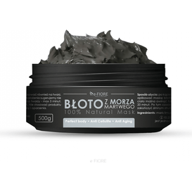 E-FIORE Naturalne gęste błoto z Morza Martwego, 500 g