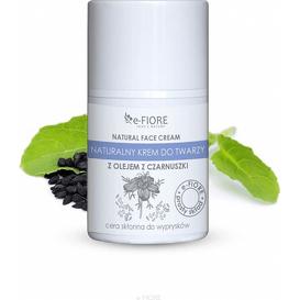 E-FIORE Naturalny krem do twarzy z czarnuszką, 50 ml