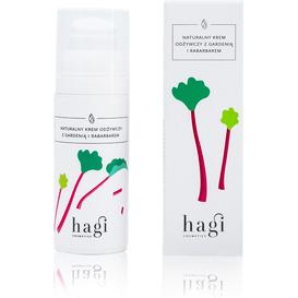 Hagi Naturalny krem odżywczy z gardenią i rabarbarem 50 ml