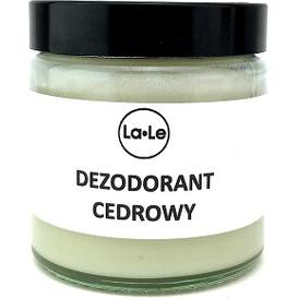 La-Le Kosmetyki Dezodorant ekologiczny w kremie - Cedr