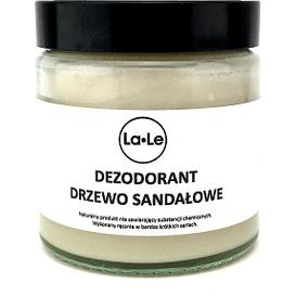 La-Le Kosmetyki Dezodorant ekologiczny w kremie - Drzewo sandałowe