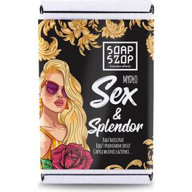 Soap Szop Mydło w kostce - Sex&Splendor, 80 g