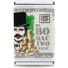 Soap Szop Mydło w kostce - Bogactwo, 80 g