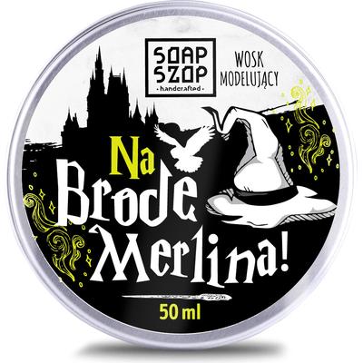 Wosk modelujący do brody - Na Brodę Merlina Soap Szop