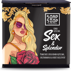 Soap Szop Kula do kąpieli - Bomba Sex&Splendor, 250g