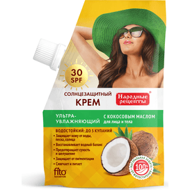 Fitocosmetic Ultra nawilżający krem do opalania SPF 30, 50 ml