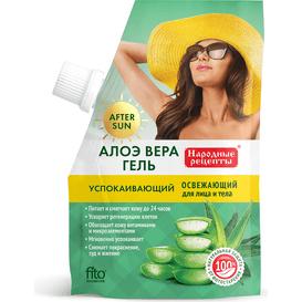 Fitocosmetic Aloesowy łagodzący żel po opalaniu do twarzy i ciała, 50 ml