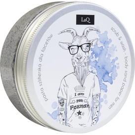 LAQ Pasta szlifierska dla gruboskórnych mężczyzn, 200 ml
