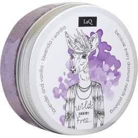 LAQ Peeling myjący do ciała - lawenda i wanilia, 200 ml