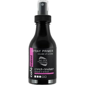 Cafe Mimi Spray do stylizacji włosów - Objętość i blask, 150 ml
