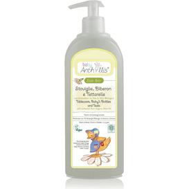Pierpaoli Anthyllis Płyn do mycia butelek i smoczków z surfaktantem z oliwy z oliwek, 500 ml
