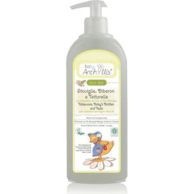 Płyn do mycia butelek i smoczków z surfaktantem z oliwy z oliwek Pierpaoli Anthyllis