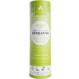 Produkty less waste Naturalny dezodorant na bazie sody -  Persian Lime