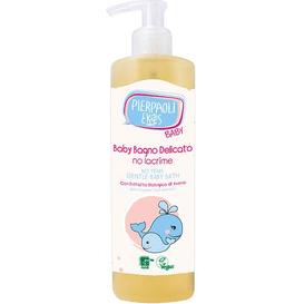Pierpaoli Ekos Delikatny płyn do kąpieli dla dzieci i niemowląt bez dodatku mydła, 400 ml