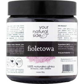 Your Natural Side Glinka fioletowa, 50 g