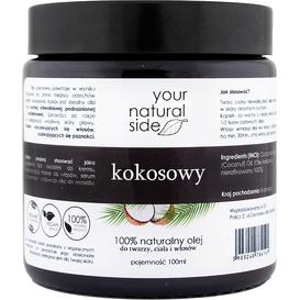 Your Natural Side Olej kokosowy nierafinowany