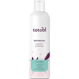 Totobi Naturalny szampon z odżywką do skóry i sierści zwierząt, 300 ml