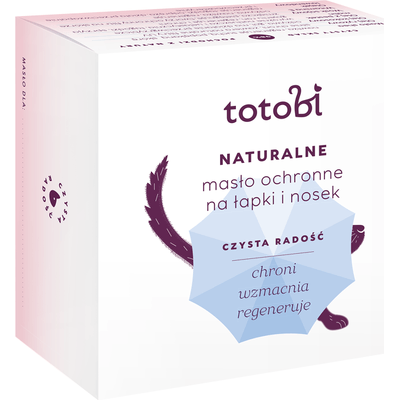 Naturalne masło ochronne na łapki i nosek Totobi