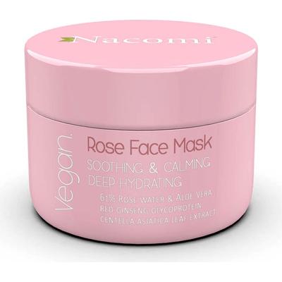 Maska różana łagodząco-uspokajająca Nacomi