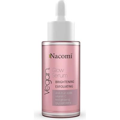 Serum rozjaśniająco-złuszczające do twarzy Nacomi