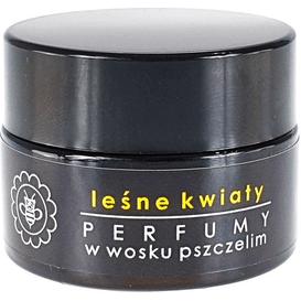 Miodowa Mydlarnia Perfumy w wosku pszczelim - Leśne kwiaty