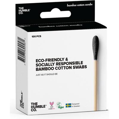 Czarne bambusowe patyczki higieniczne do uszu Humble Brush