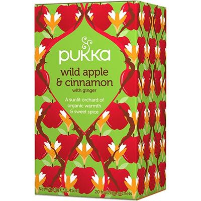 Herbata ziołowa - Dzikie jabłko z cynamonem - Wild Apple & Cinnamon Pukka