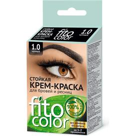Fitocosmetic Farba do brwi i rzęs - Czarna, 2x2ml