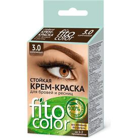 Fitocosmetic Farba do brwi i rzęs - Brązowa, 2x2ml