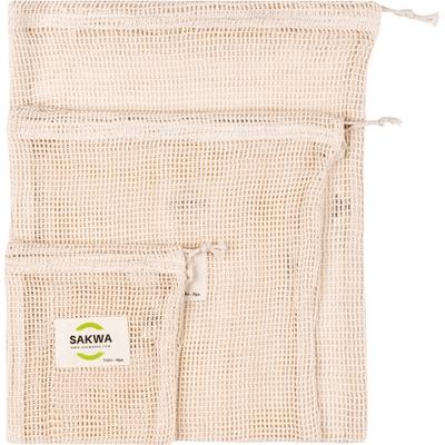 Zestaw wielorazowych woreczków do noszenia i przechowywania żywności - Mix Sakwabag