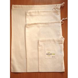 Sakwabag Zestaw wielorazowych woreczków na produkty sypkie