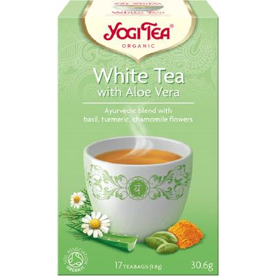 Herbata biała z aloesem - White tea with aloe vera BIO Yogi Tea