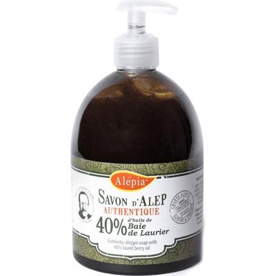 Mydło Alep Tradition w płynie 40% oleju laurowego Alepia