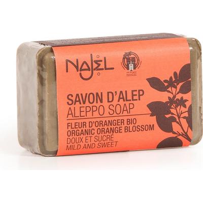Mydło Aleppo z wodą z kwiatu gorzkiej pomarańczy Najel