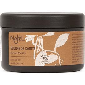 Najel Organiczne masło shea o zapachu waniliowym, z EcoCert, 100 g