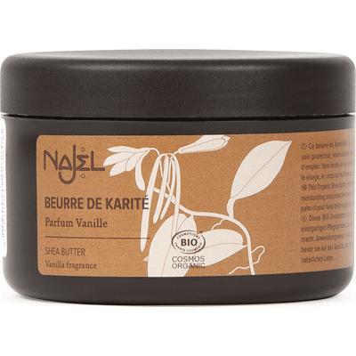 Organiczne masło shea o zapachu waniliowym, z EcoCert Najel