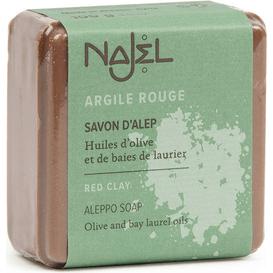 Mydło Aleppo - Czerwona glinka / Najel