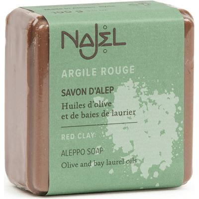 Mydło Aleppo - Czerwona glinka Najel