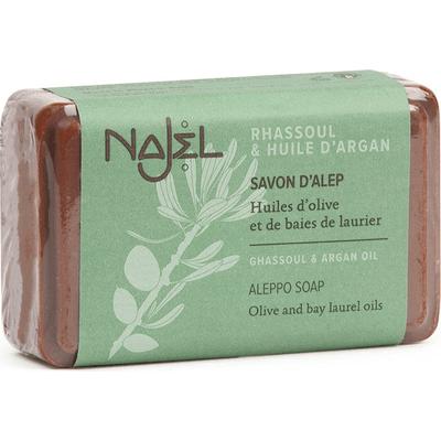 Mydło Aleppo - Olej arganowy i glinka rhassoul Najel