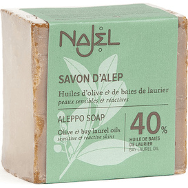 Najel Mydło Aleppo 40% oleju laurowego