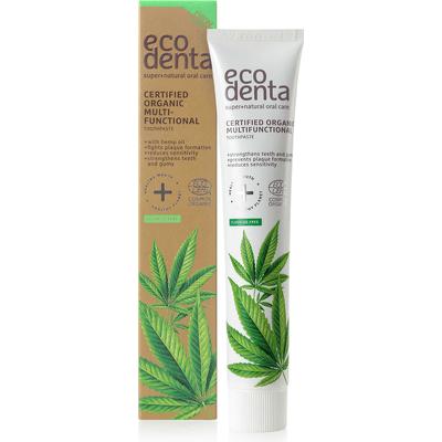Pasta do zębów z olejem konopnym - Cosmos Organic Ecodenta